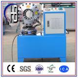 """중국 최고 공급자! """" 2 """"에 세륨 자동적인 ISO Techmaflex 1/4 호스 주름을 잡는 기계"""
