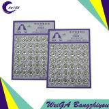 華Taiのめっきの金属の出版物ボタン4#の白