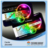 Smart card em branco UV do plástico do negócio do produto novo 2017 RFID