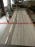 Gelbe königliche Jade-Projekt-Baumaterial-natürliche grosse Marmorierungplatte