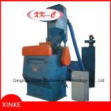 Machine de nettoyage de grenaillage de courroie de dégringolade avec avec la porte manuelle