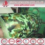 Tôle d'acier en acier enduite d'une première couche de peinture galvanisée de couleur de bobine