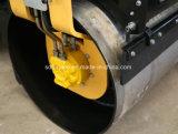 doppio rullo compressore del costipatore del terreno del timpano 3t