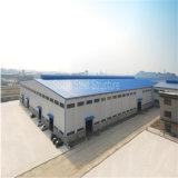 Almacén durable del metal de la estructura de acero con el certificado del SGS