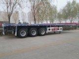 Горячие Axles продавеца 2 трейлер контейнера 40ft и 20ft планшетный