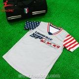 昇華メンズ野球のソフトボールのカスタムワイシャツのジャージUnifroms