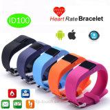 Il più nuovo braccialetto astuto di frequenza cardiaca di Bluetooth con IP65 impermeabilizza (ID100)