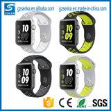 アマゾン熱い販売の腕時計のスポーツバンドシリコーンストラップ
