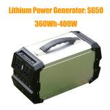 Bloco de potência solar portátil 110V/220V/230V do gerador