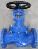Le fer de fonte DIN beugle le robinet d'arrêt sphérique (WJ41H-16)