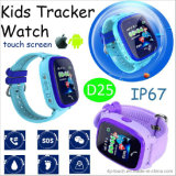 IP67는 방수 처리한다 GPS (D25)를 가진 아이 이동할 수 있는 시계를