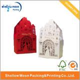 Rectángulo de papel rojo o blanco de embalaje del caramelo de la casa (QY150029)