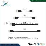 USB 3.0 um macho à micro cabeça masculina do PVC do cabo 5p nenhum Ce trançado RoHS da luva