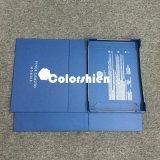 銀色のカードが付いている標準的なペーパー折るパッキングギフト用の箱