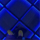 La barra interactiva vendedora caliente más nueva LED Dance Floor del disco de 3D Mirrow