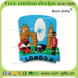 I regali promozionali del ricordo si dirigono i magneti di gomma molli Londra (RC- Regno Unito) del frigorifero della decorazione