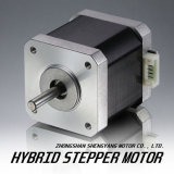 42 milímetros (nema 17) Stepper Electrical Motor para 3D Printer con Various Shafts