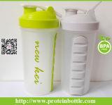 Neueste patentierte 500ml PlastikJoyshaker Flasche für Protein-Puder