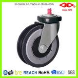 центр колеса PU рицинуса вагонетки 125mm Nylon (G142-06E125X38)