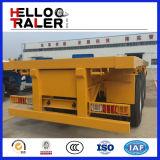 Gummireifen 12.00r22.5 28 Tonnen des Fahrgestell-3 Wellen-Flachbettbehälter-Schlussteil-
