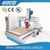 Машина маршрутизатора CNC 4 осей для гравировки древесины и пены (1325)