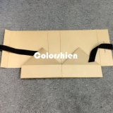 Rectángulo de regalo plegable de oro de papel clásico del embalaje de Cosmtic