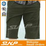 Pantaloni di scarsità lavati casuali della saia all'ingrosso del cotone per gli uomini