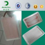 Hersteller-direkt kundenspezifisches Verpacken- der Lebensmittelsaugfähiges Plastikfleisch-Kasten-Tellersegment