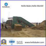 Hallo Ballenpreßentfernbare automatische horizontale Luzerne-Ballenpresse