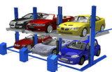Elevador hidráulico do estacionamento do tirante/carro do estacionamento do carro de dois bornes