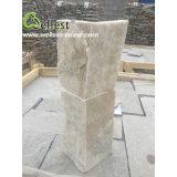 Супер белый угол камня культуры кварца