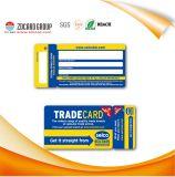 Belle carte d'adhésion de cadeau de carte d'identification de PVC de vue de la Chine