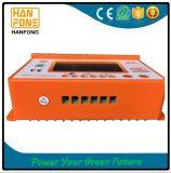 Het zonne Controlemechanisme PWM van de Last van de Regelgever 60A 12V 24V Zonne, voor de Batterij van het Zonnepaneel