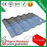 Fabrication enduite en pierre de Guangzhou de tuile de toiture en métal