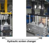 Película plástica que recicla el granulador