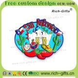 Polynésien promotionnel personnalisé de souvenir d'aimants de réfrigérateur de silicones de décoration de cadeaux (RC-US)