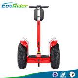 Ecoriderの新しいモデルの電気一人乗り二輪馬車、2つの車輪の自己のバランスをとるスクーター