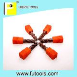 Vier Flutes CNC Solid Carbide Router Bit für Metal Processing