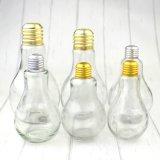Nuevos tipos botella de cristal del bulbo creativo de Dringkware de la cristalería