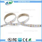 CRI90 passte 12W/M SMD2835 12V flexibles LED der Streifen-Licht an