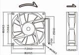 12V 8038 80mm 80X80X38mm Ventilator de van uitstekende kwaliteit van de AsStroom