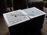 Griglie duttili della botola del ghisa con i blocchi per grafici