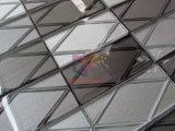 tijolo 3D de vidro para o mosaico do respingo da cozinha (CFC686)