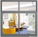 Am meisten benutztes wasserdichtes/schalldichtes/Heat-Insulated schiebendes Aluminiumfenster