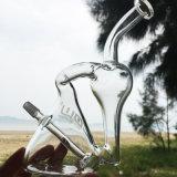 Due-in-Un riciclare i tubi di acqua di fumo di vetro di Chisha di stile creativo (ES-GB-260)