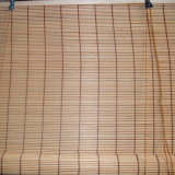 Abat-jour de rouleau vénitiens en bambou personnalisés manuels de décoration de guichet
