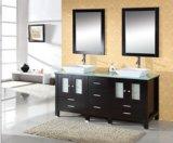 Doppelte Wannen-festes Holz-Badezimmer-Möbel
