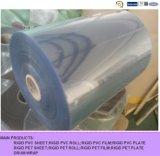 Folha rígida do PVC do plástico transparente da alta qualidade