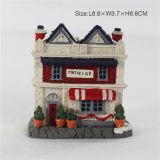 Высокое качество Christmas Building Model с Resin Material