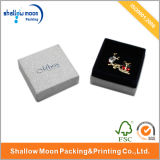 Paper nacarado Jewelry Paper Box con Lining (QY150023)